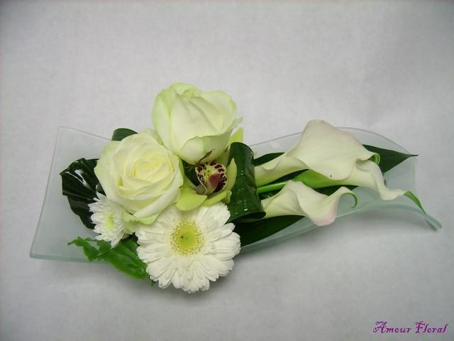 centre de table   amour floral